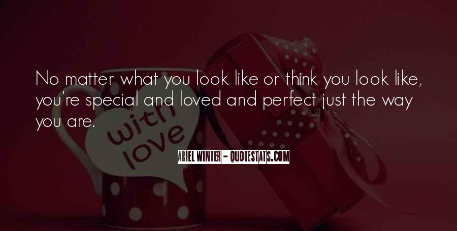 You Are Perfect Girl Quotes #384319