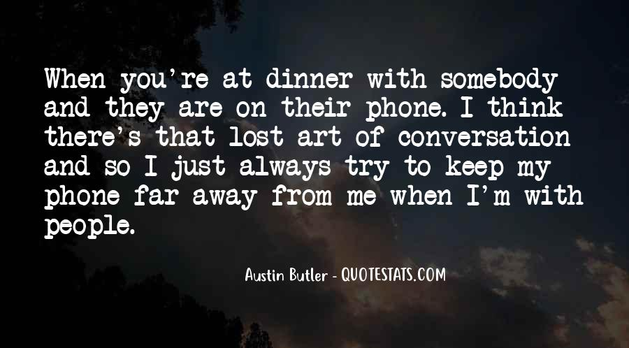 You Are So Far Away From Me Quotes #878712