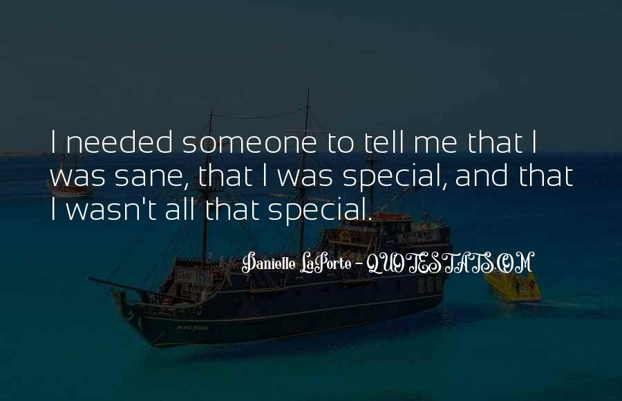 You Are Special In My Life Quotes #56756