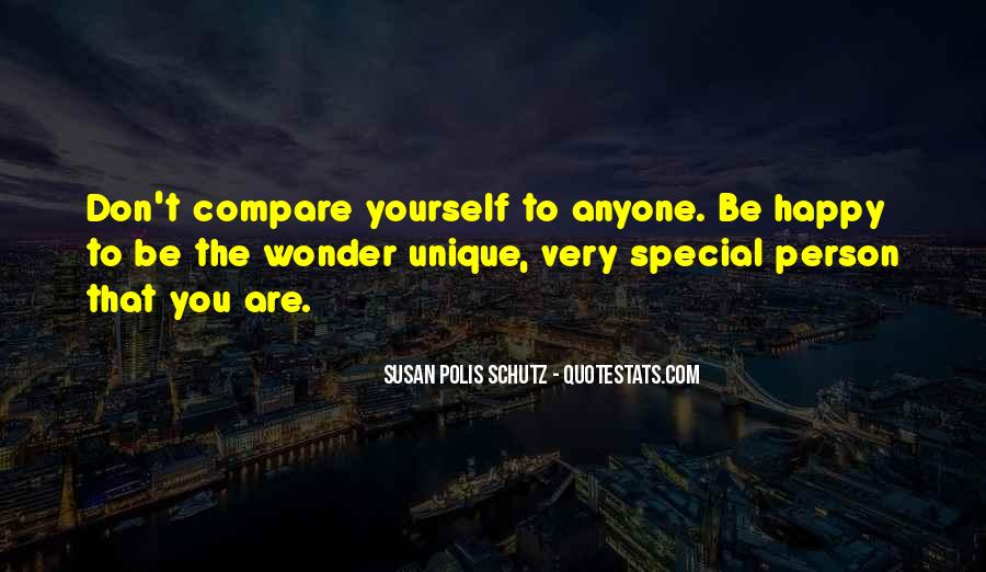 You Are Special Person Quotes #1627928
