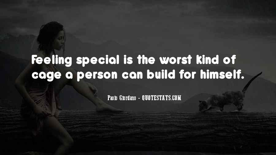 You Are Special Person Quotes #331549