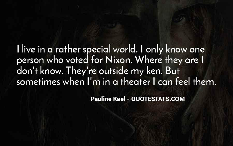You Are Special Person Quotes #340155
