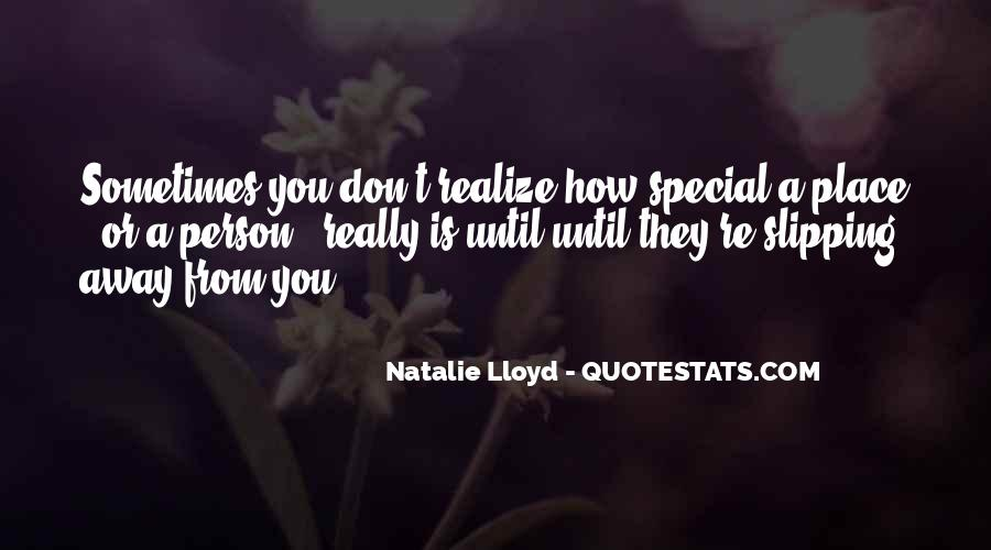 You Are Special Person Quotes #355751