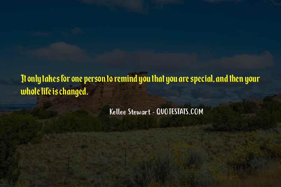 You Are Special Person Quotes #362068