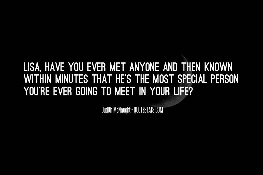 You Are Special Person Quotes #404333