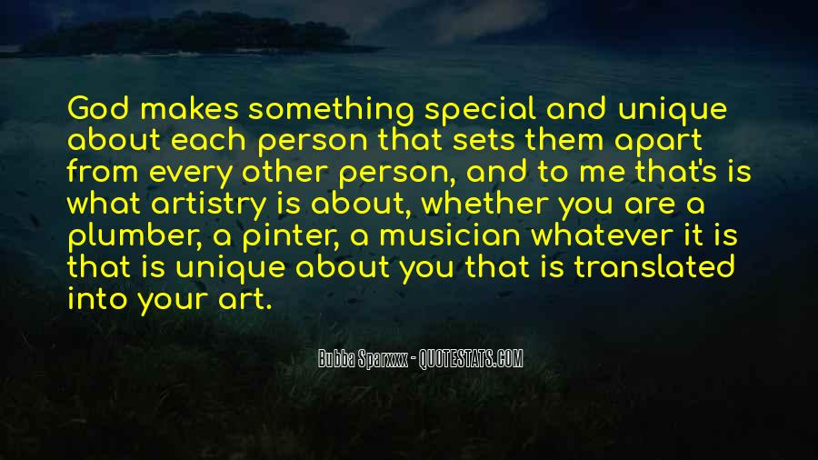 You Are Special Person Quotes #430914
