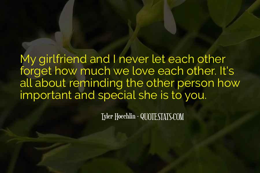 You Are Special Person Quotes #601200