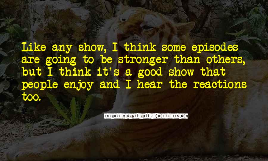 You Are Stronger Than U Think Quotes #22663