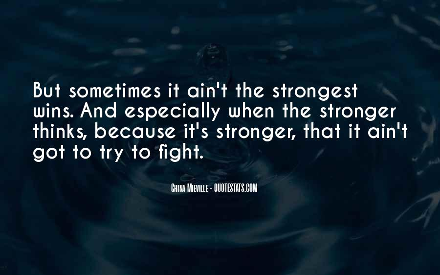 You Are Stronger Than U Think Quotes #24044