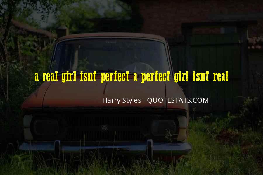You Are The Perfect Girl For Me Quotes #199930