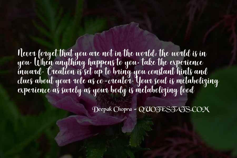 You Are The World Quotes #11065
