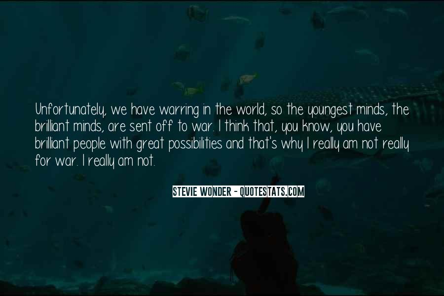 You Are The World Quotes #21255