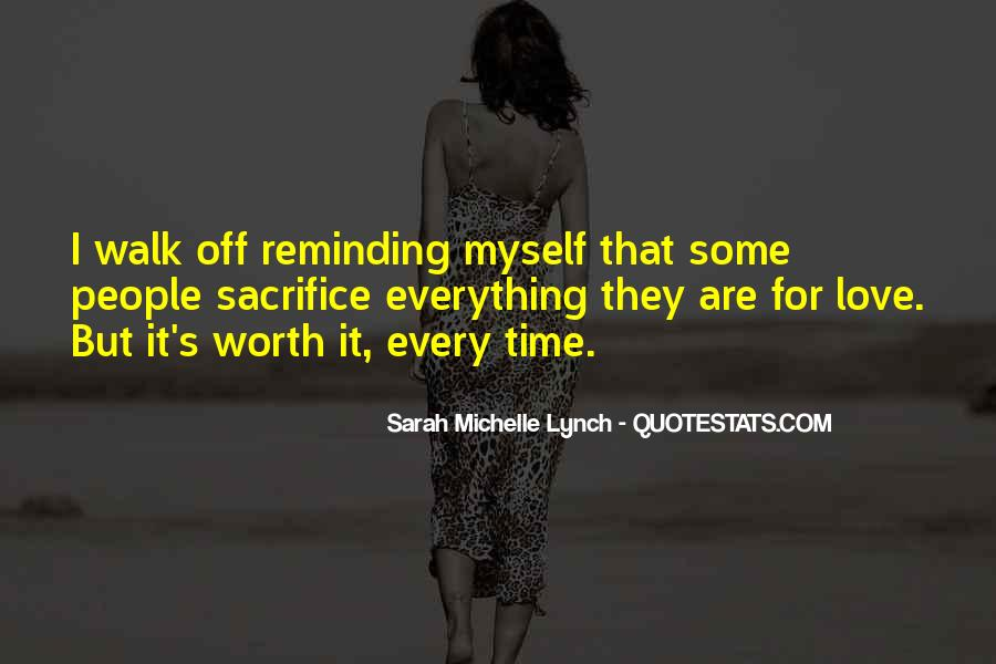 You Are Worth It Love Quotes #157105