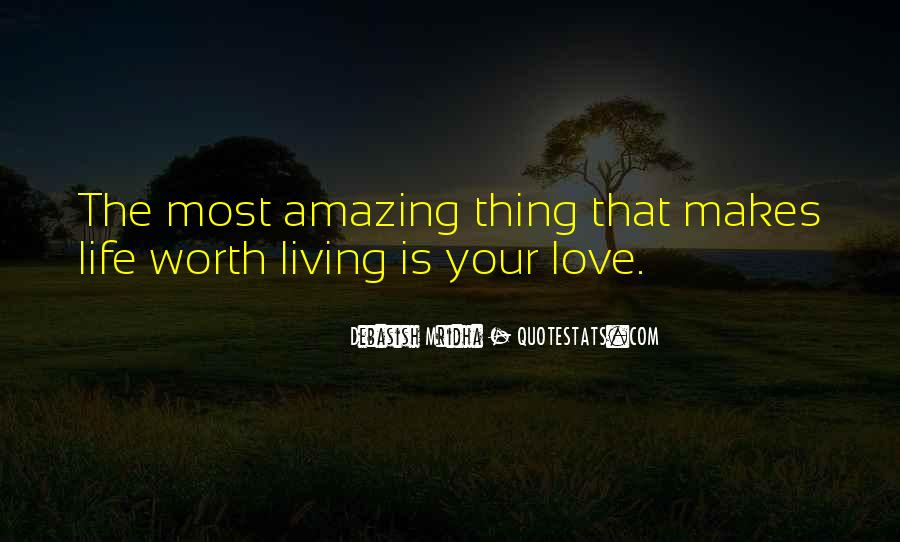 You Are Worth It Love Quotes #52619
