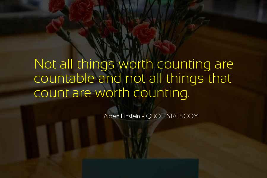 You Are Worth So Much More Quotes #2425