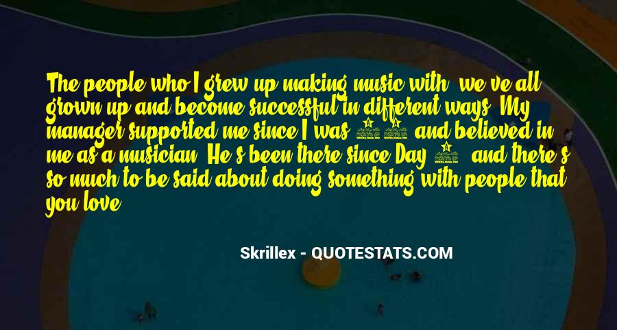 You Believed In Me Quotes #1133487