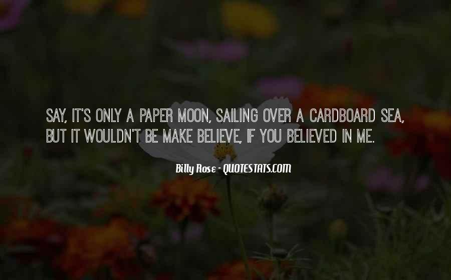 You Believed In Me Quotes #209760