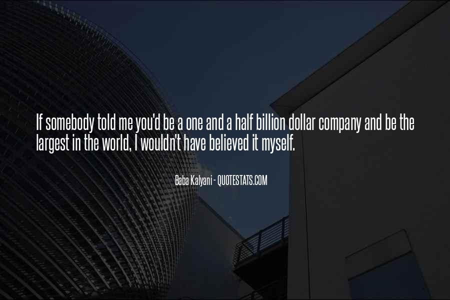 You Believed In Me Quotes #33720