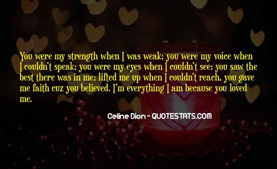 You Believed In Me Quotes #799451