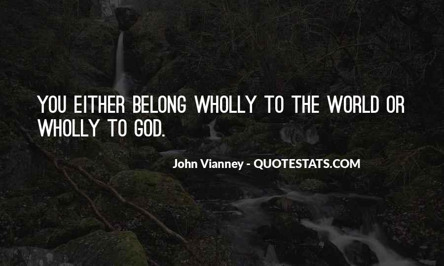 You Belong To God Quotes #1136158