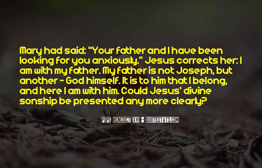 You Belong To God Quotes #1438553