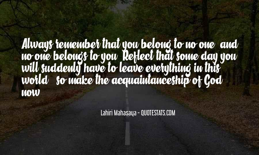 You Belong To God Quotes #1684708