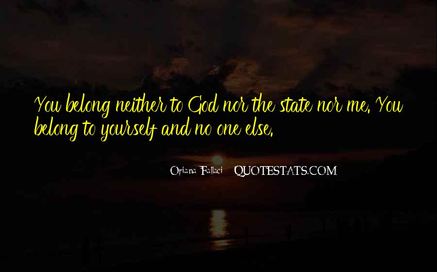 You Belong To God Quotes #283425