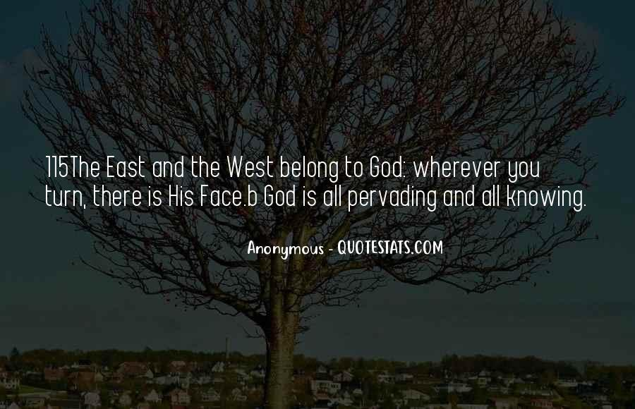 You Belong To God Quotes #449302
