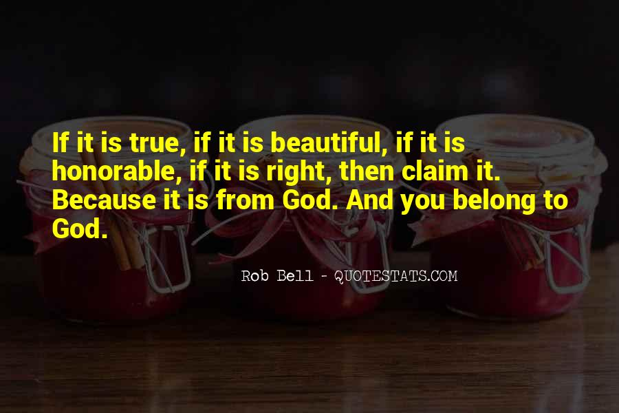 You Belong To God Quotes #916449
