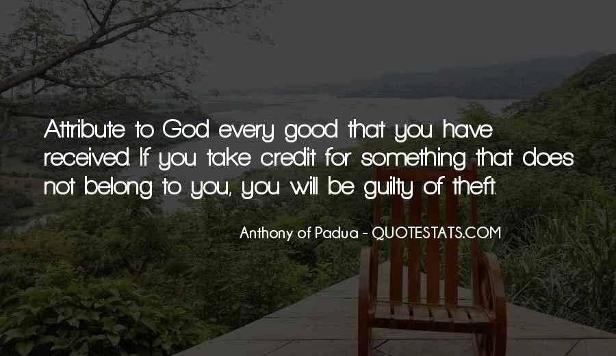 You Belong To God Quotes #91758