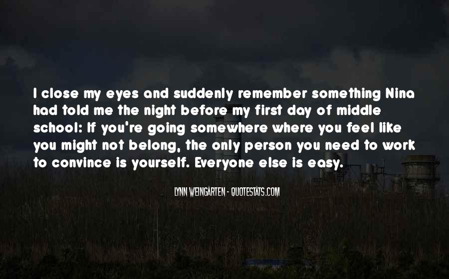 You Belong To Someone Else Quotes #314107