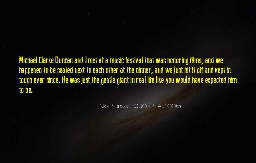Quotes About Music Festival #37753