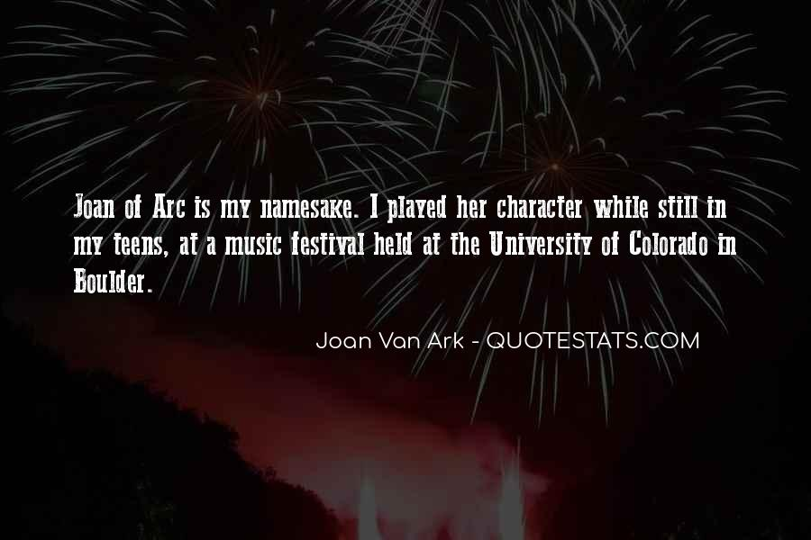 Quotes About Music Festival #646324