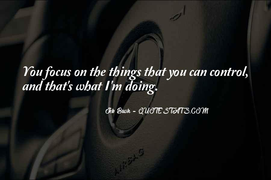 You Can Control Quotes #107899