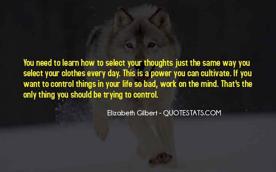You Can Control Quotes #31772