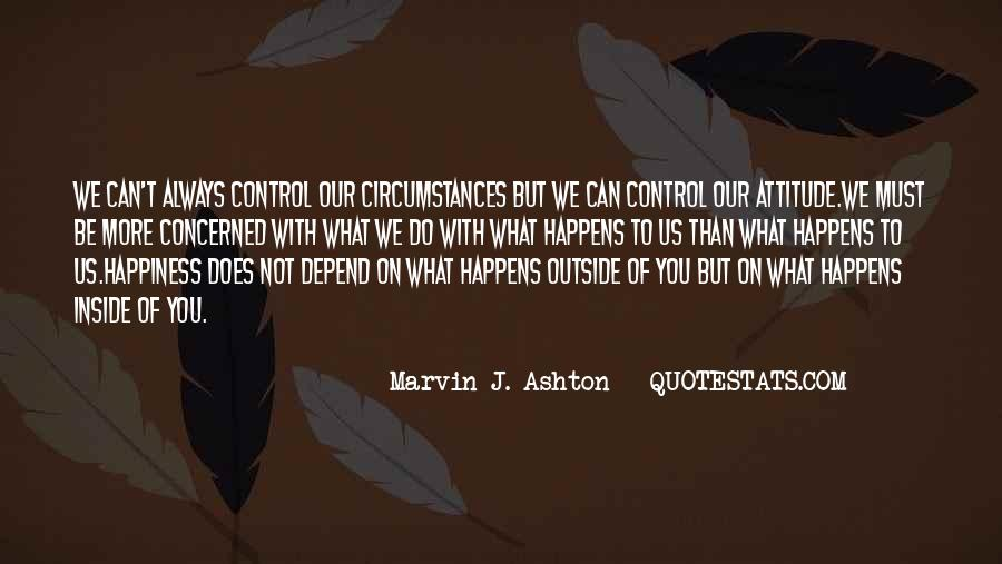 You Can Control Quotes #58713