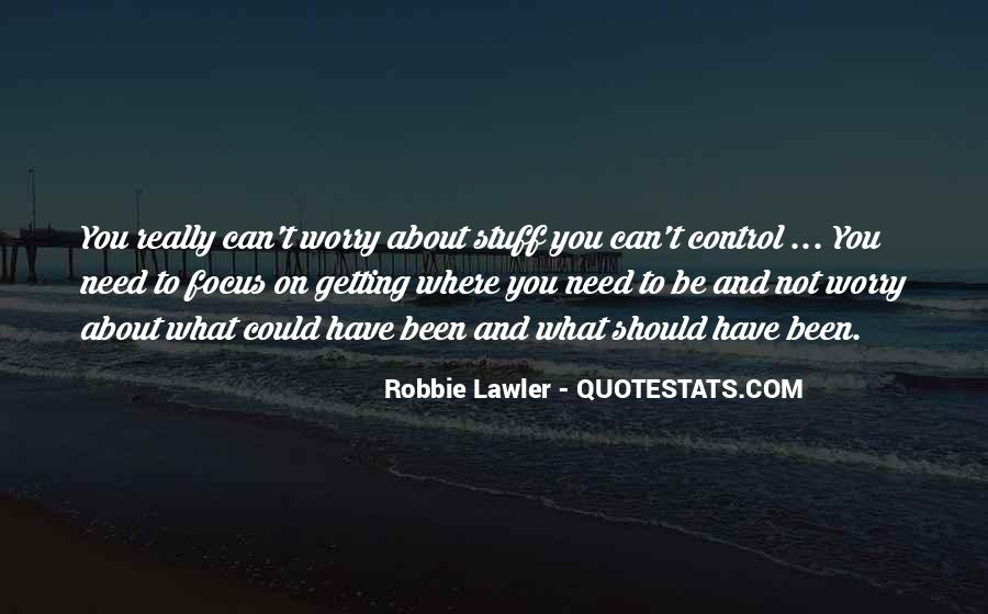 You Can Control Quotes #63191