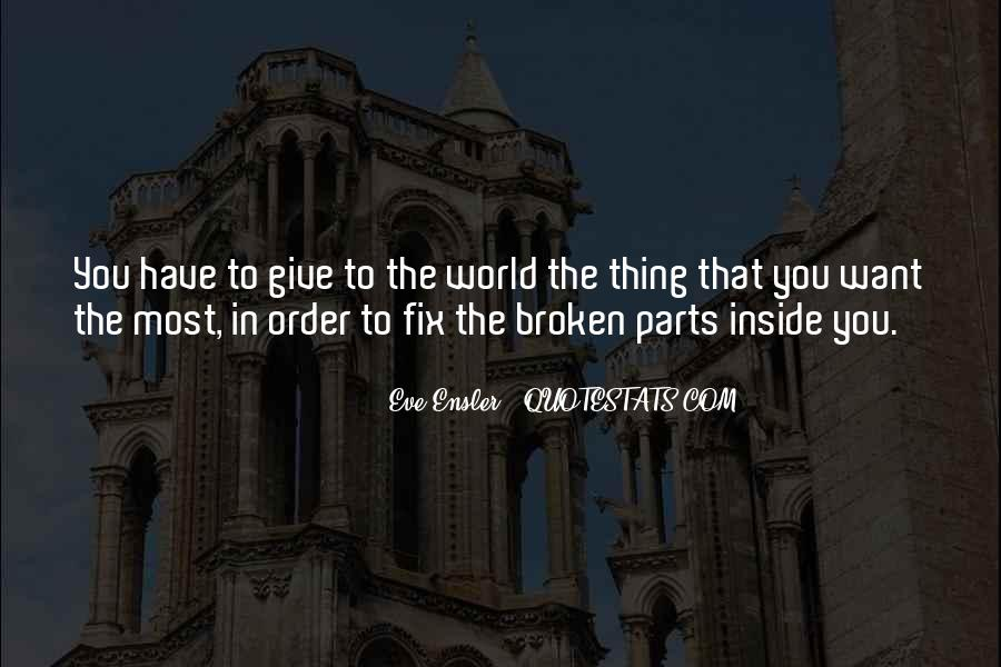 You Can't Fix The Past Quotes #9969