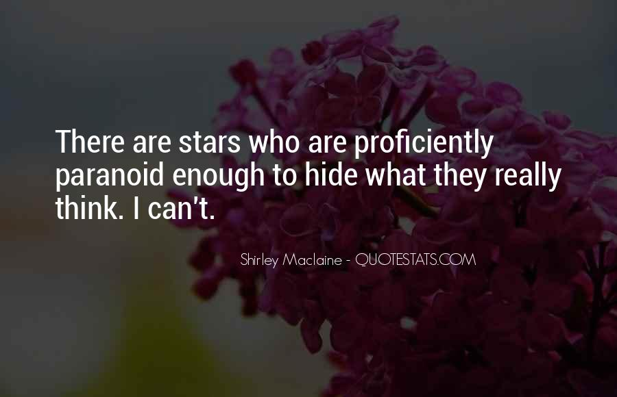 You Can't Hide Things From Me Quotes #1854
