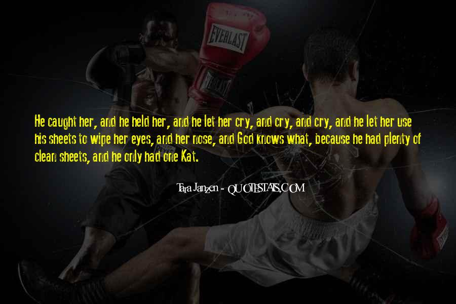 You Caught My Eyes Quotes #9226