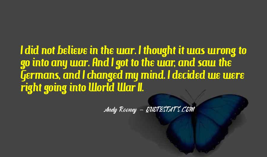 You Changed My Mind Quotes #111920