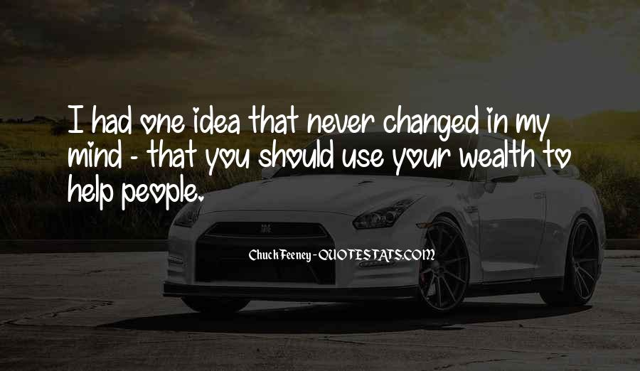 You Changed My Mind Quotes #146177
