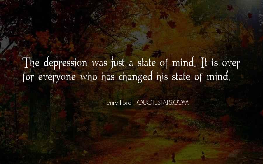 You Changed My Mind Quotes #548407