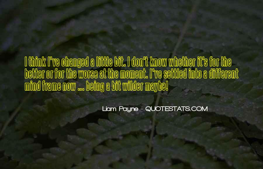 You Changed My Mind Quotes #582042