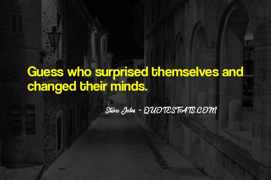 You Changed My Mind Quotes #693396