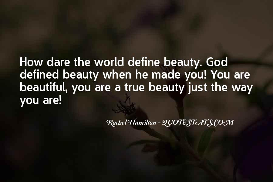 You Define Beauty Quotes #1086922
