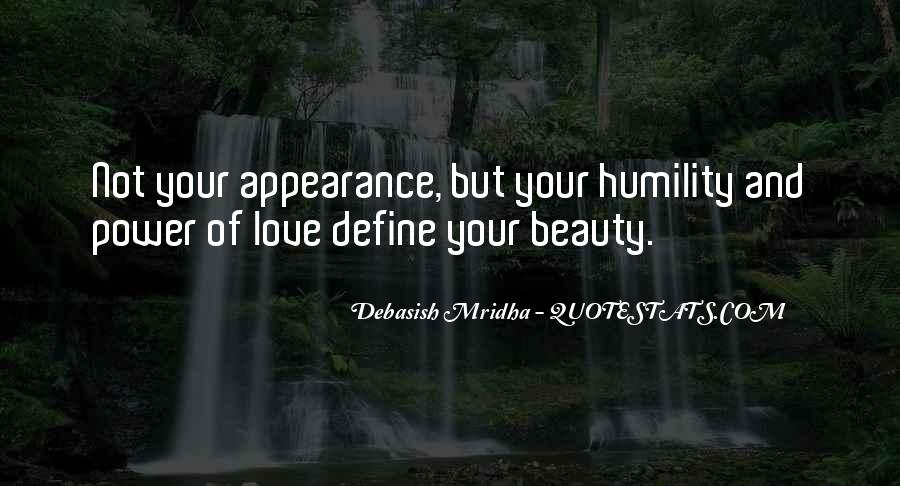 You Define Beauty Quotes #1196250
