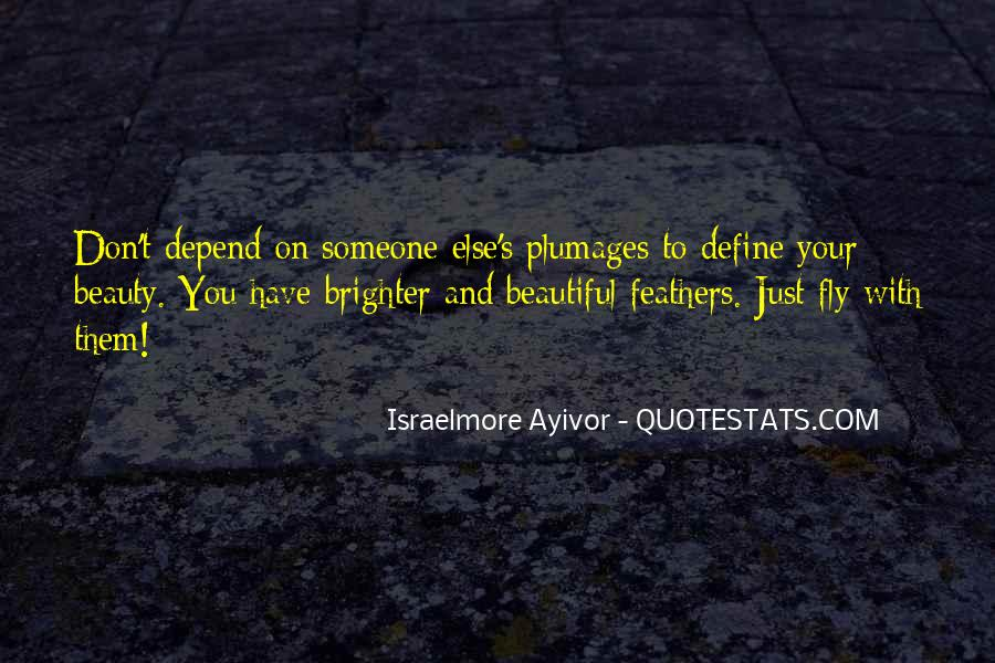 You Define Beauty Quotes #148013