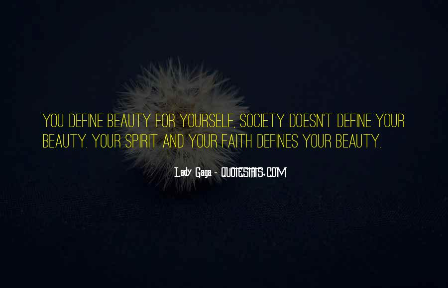 You Define Beauty Quotes #295345
