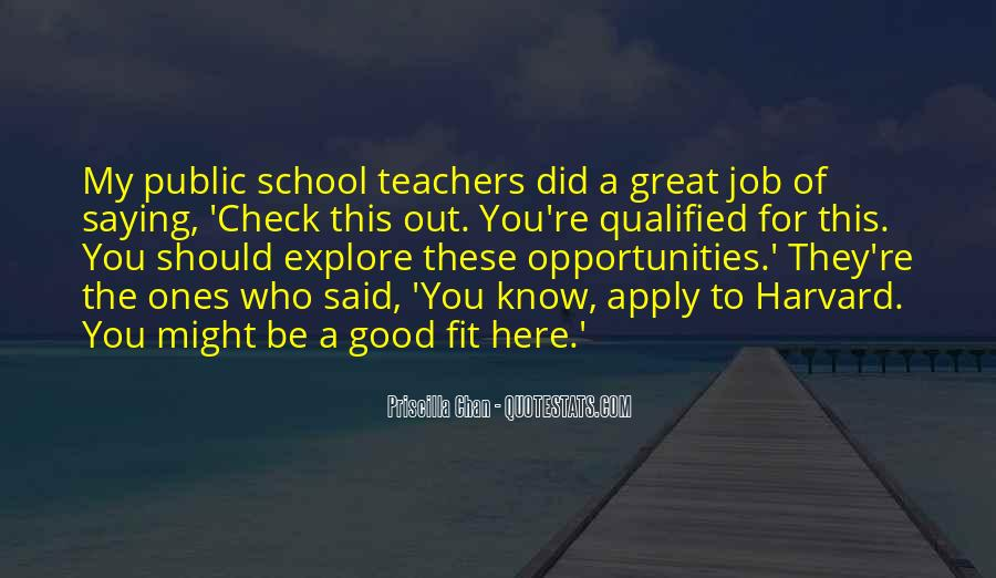 You Did A Great Job Quotes #1129354